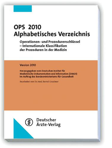 OPS 2010 Alphabetisches Verzeichnis: Operatione...