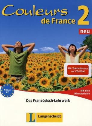 Couleurs de France Neu 2. Set aus Buch, Audio-C...