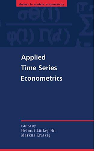 Applied Time Series Econometrics (Themes in Modern Econometrics)