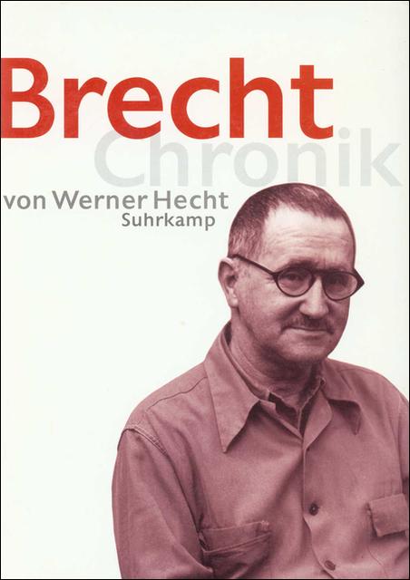 Brecht Chronik 1898-1956 - Werner Hecht