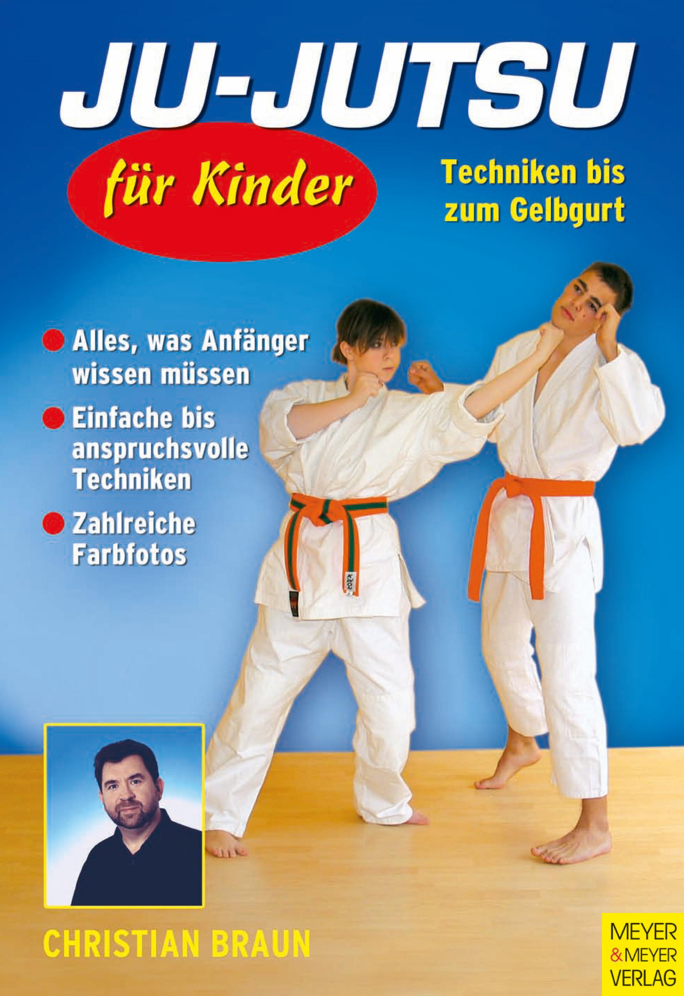 Ju-Jutsu für Kinder - Techniken bis zum Gelbgur...