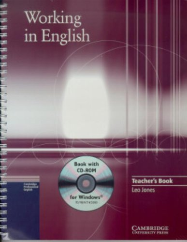 Working in English Teacher´s Book [With CDROM] ...