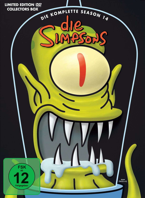 Die Simpsons - Die komplette Season 14 [Limited...