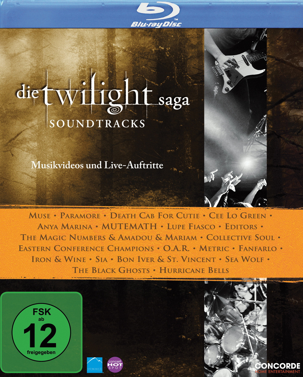 Die Twilight Saga - Soundtracks (Musikvideos un...