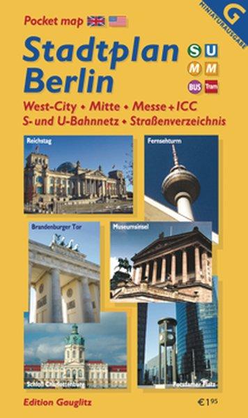 Berlin Stadtplan 2010 - Edition Gauglitz