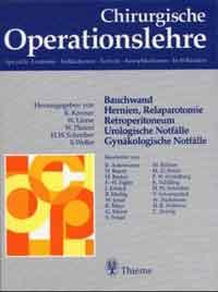 Chirurgische Operationslehre. Spezielle Anatomi...