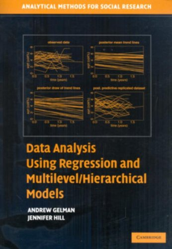Data Analysis Using Regression and Multilevel/Hierarchical Models (Analytical Methods for Social Research) - Andrew Gelm