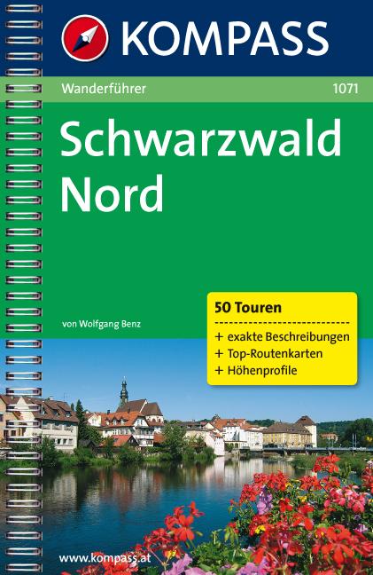 Schwarzwald Nord: Wanderführer mit Top-Routenka...