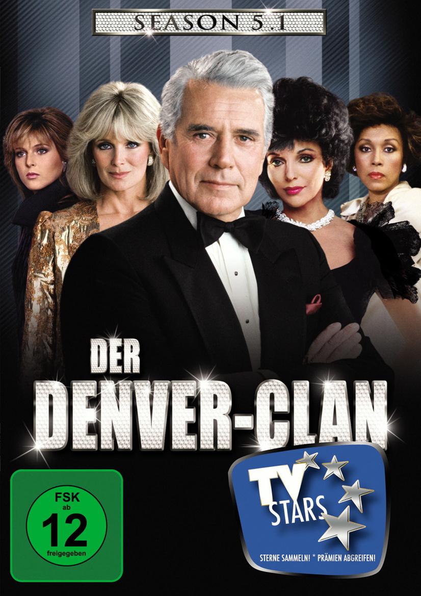 Der Denver-Clan - Season 5.1 [4 DVDs]