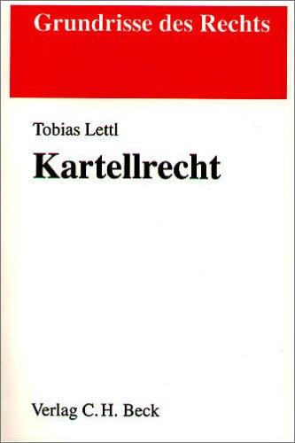 Kartellrecht - Tobias Lettl
