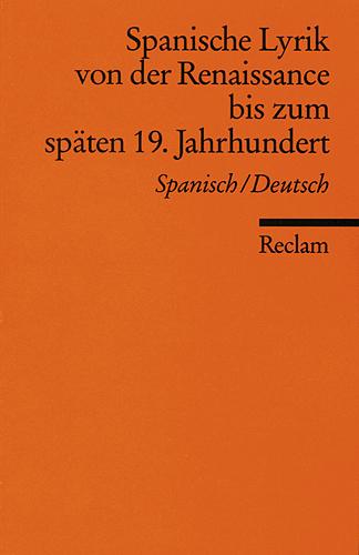 Spanische Lyrik von der Renaissance bis zum spä...