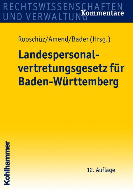 Landespersonalvertretungsgesetz für Baden-Württ...