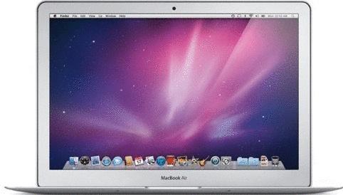 Apple MacBook Air 13.3 (High-Res Glossy) 1.86 G...