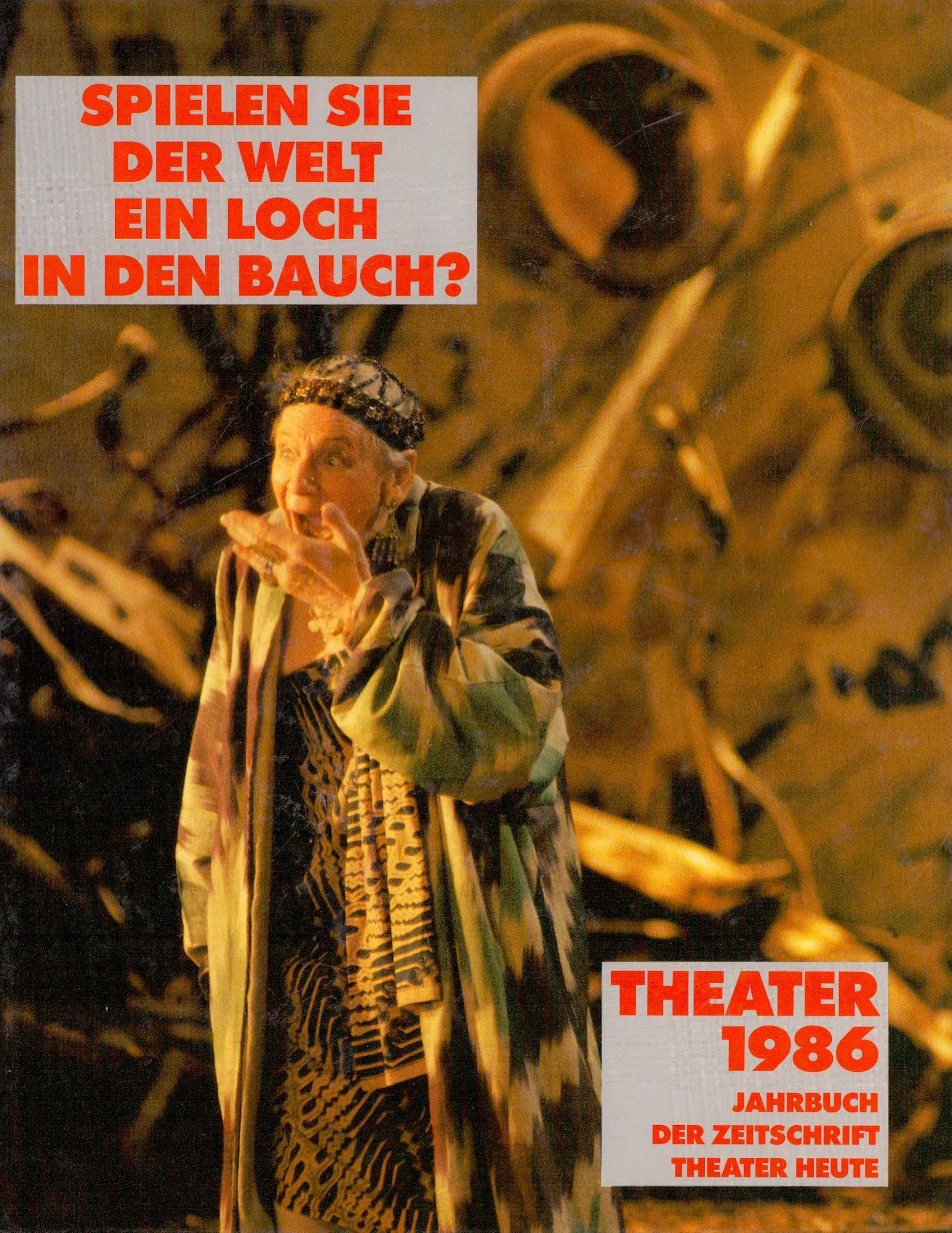 Jahrbuch der Zeitschrift - Theater heute: Theat...