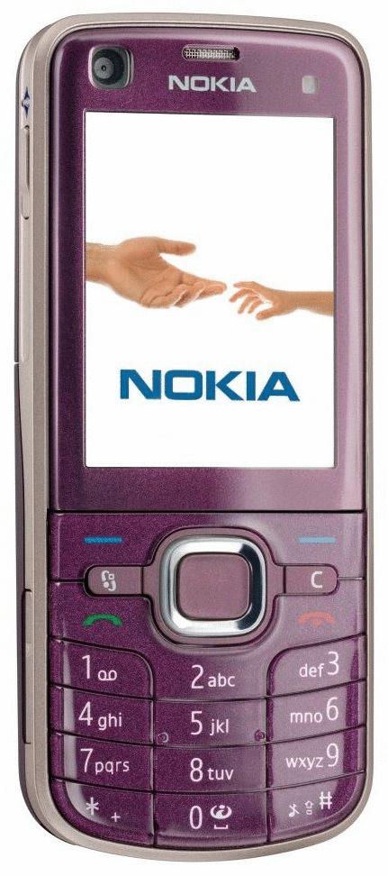 Nokia 6220 Classic plum