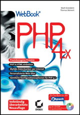 PHP 4.x, m. CD-ROM - Mark Kronsbein