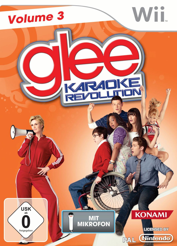 Karaoke Revolution Glee Vol.3 [inkl. Mikro]