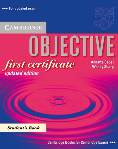 Objective first certificate updated edition: St...