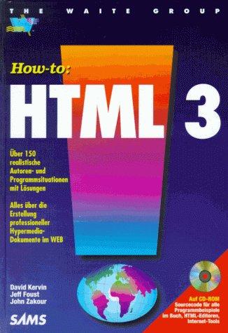 HTML 3 - David Kervin