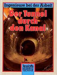 Ingenieure bei der Arbeit. Der Tunnel durch den...