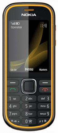 Nokia 3720 classic gelb
