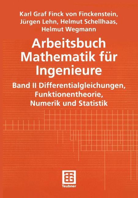Arbeitsbuch Mathematik für Ingenieure, Band II ...