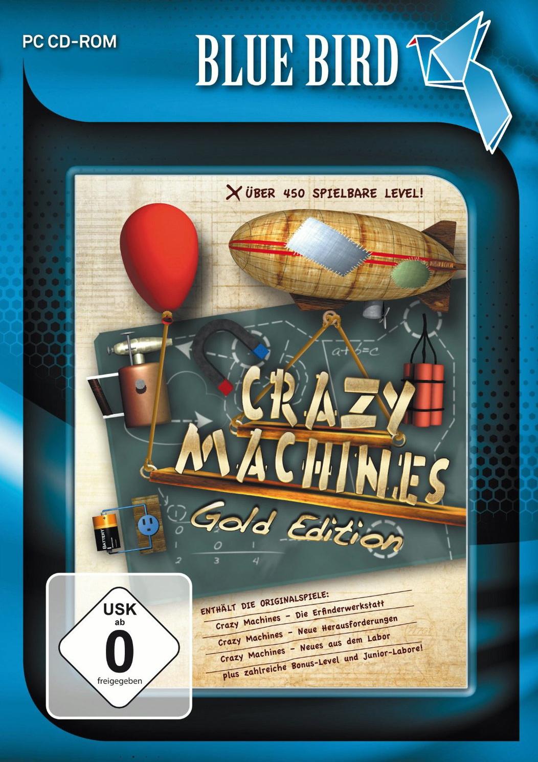 Blue Bird: Crazy Machines [Gold Edition]