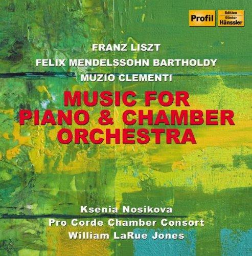 Nosikova - Musik für Klavier und Kammerorchester