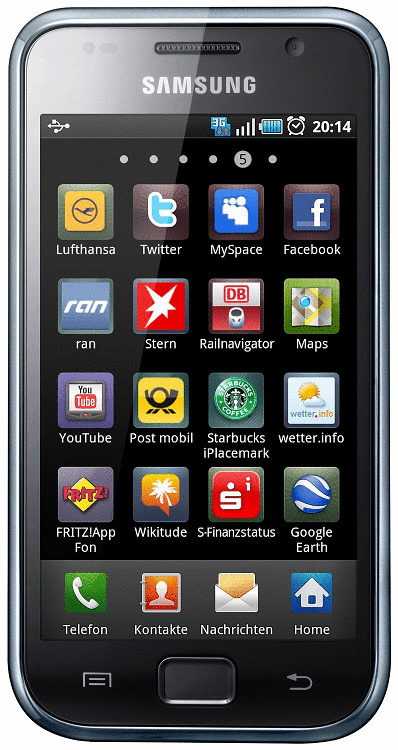 Samsung I9001 Galaxy S Plus 8GB wit