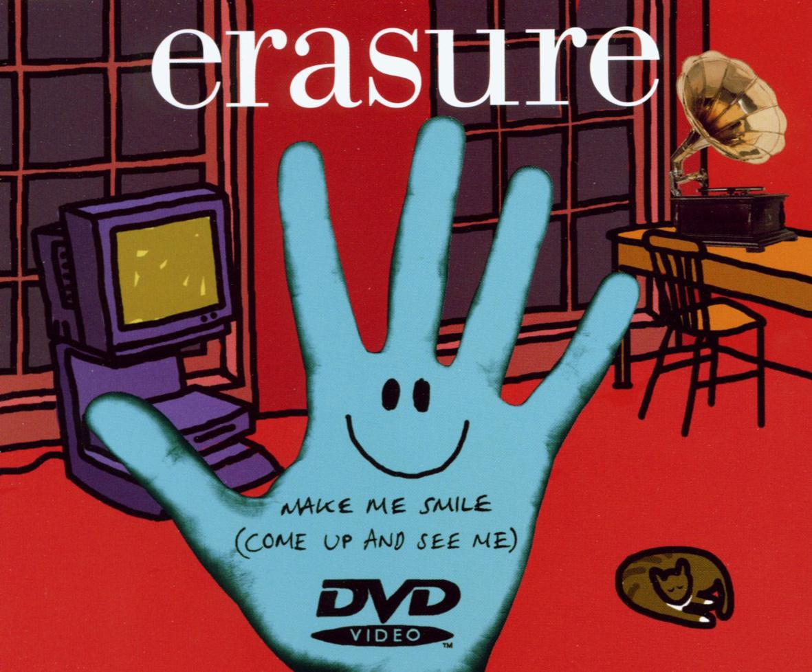 Erasure - Make Me Smile (Come Up and See Me) (DVD-Single)