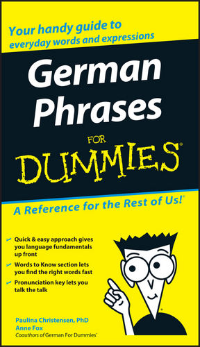 German Phrases For Dummies (For Dummies (Lifestyles Paperback)) - Paulina Christensen