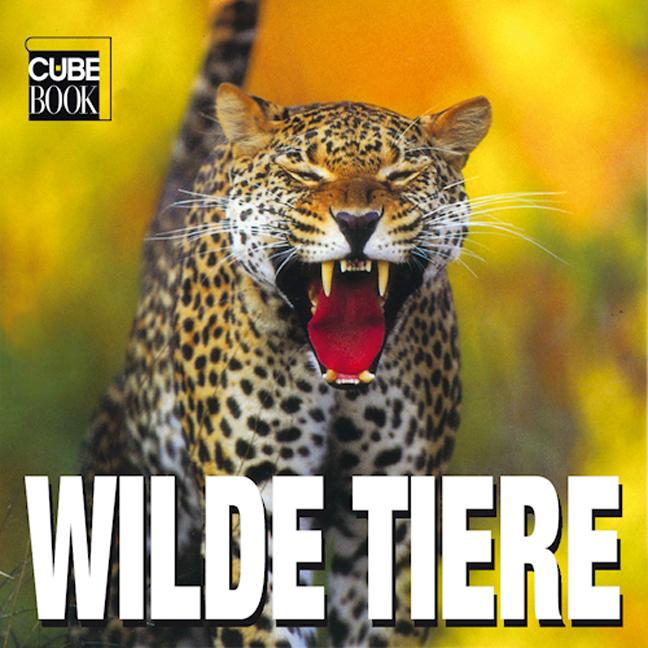 Cube Book. Wilde Tiere - Valeria Manferto De Fa...