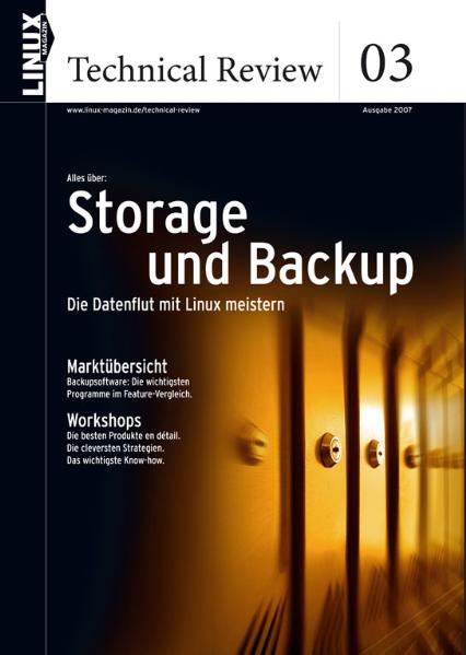 Linux Technical Review 03: Storage und Backup: ...