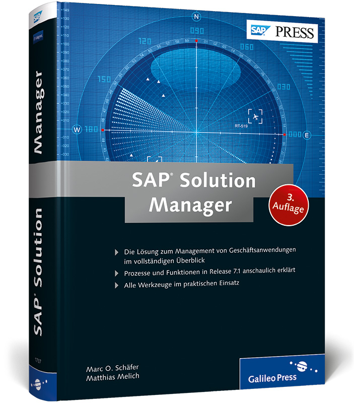 SAP Solution Manager (SAP PRESS) - Marc O. Schäfer