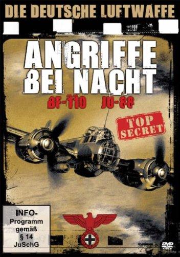 Die deutsche Luftwaffe - Angriffe bei Nacht BF-...