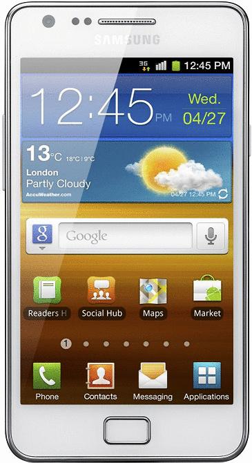 Samsung I9100 Galaxy S II 16GB wit