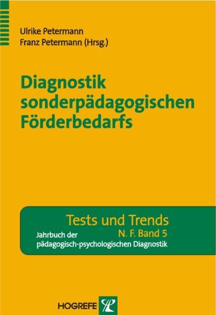 Diagnostik sonderpädagogischen Förderbedarfs - ...