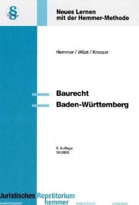 Baurecht Baden-Württemberg: Neues Lernen mit de...
