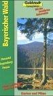 Bayerischer Wald. Städte, Orte und Strecken. Bö...