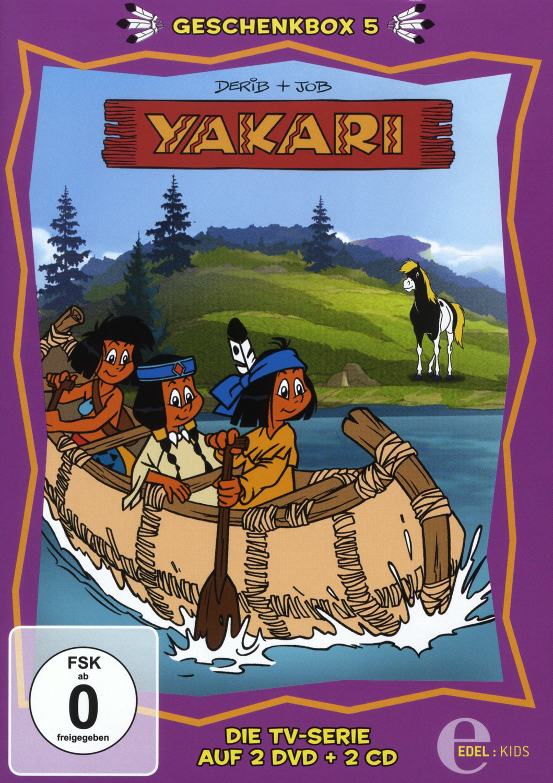 Yakari - Geschenkbox 5 [2 DVDs + 2 CDs]