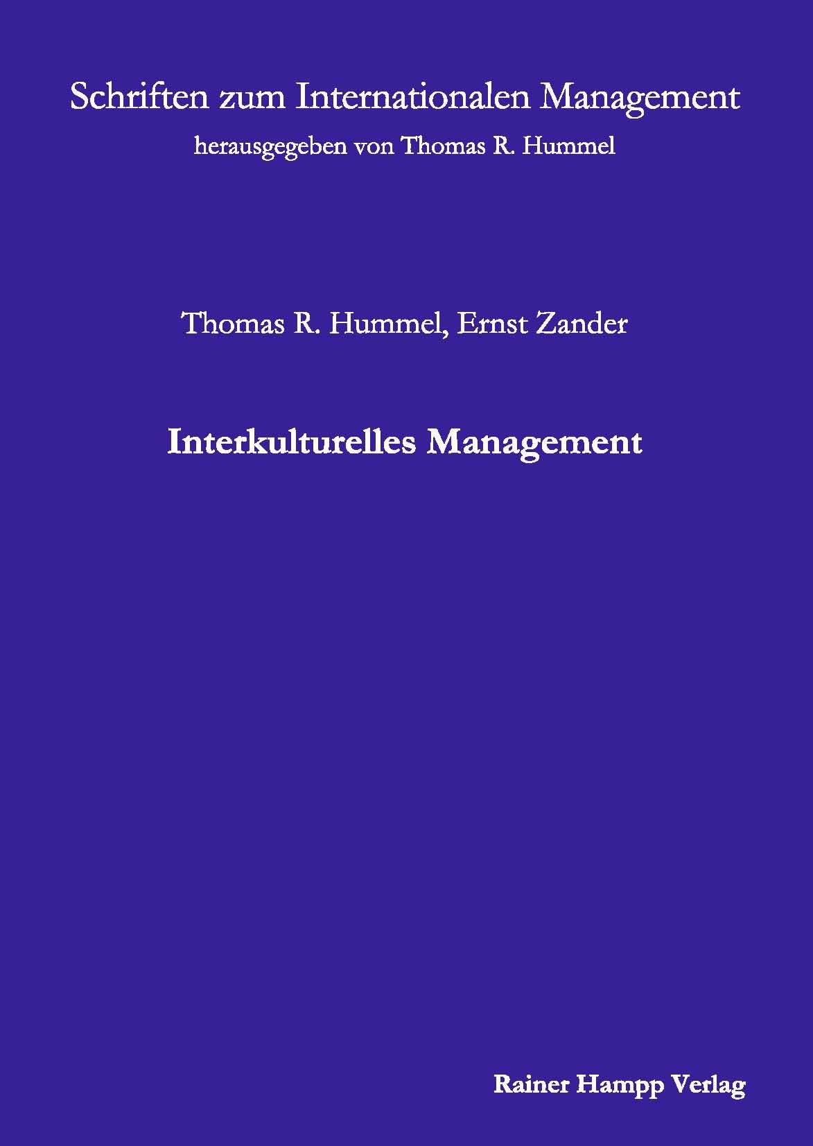 Interkulturelles Management - Thomas R. Hummel