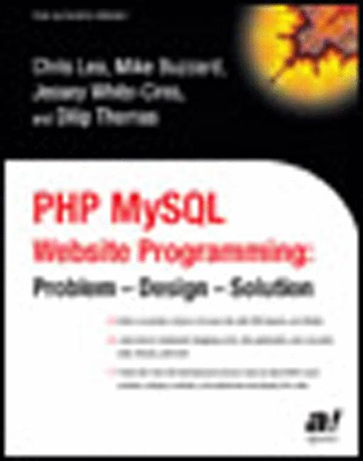 PHP MySQL Website Programming: Problem - Design...