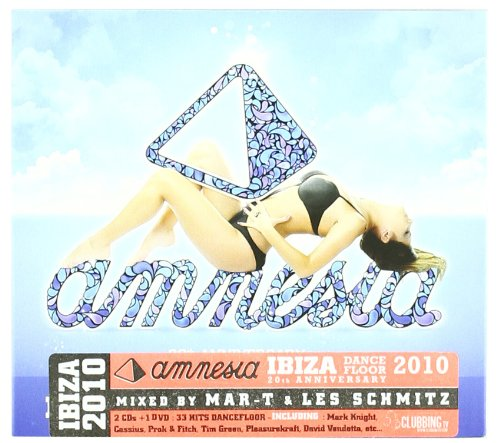 Various - Amnesia Ibiza Dancefloor 2010-2 CD & Dvd