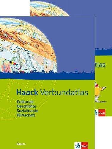 Haack Verbundatlas. Mit Arbeitsheft Kartenlesen. Sekundarstufe I. Ausgabe für Bayern