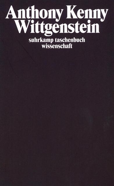 Wittgenstein: Aus dem Englischen von Hermann Vetter (suhrkamp taschenbuch wissenschaft) - Anthony Kenny
