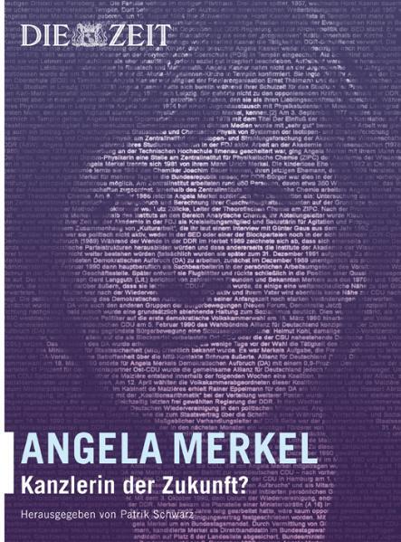 Angela Merkel: Kanzlerin der Zukunft?