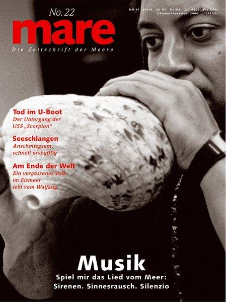 mare - Die Zeitschrift der Meere 22/2000: Musik...