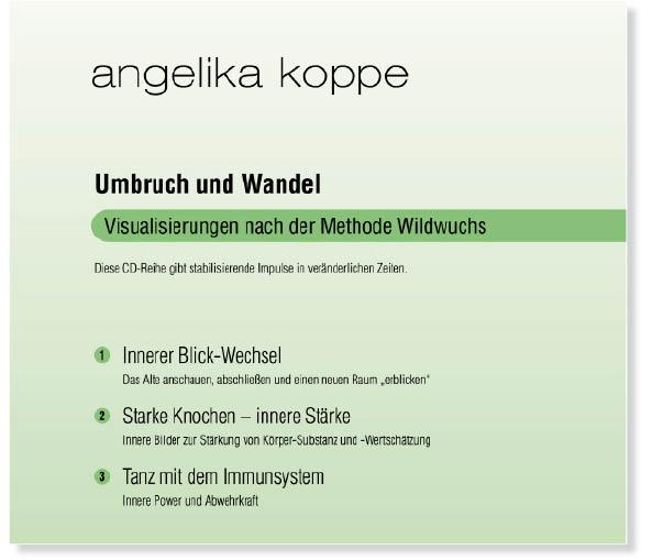 Umbruch und Wandel; 3-teiliges CD-Set aus dem A...