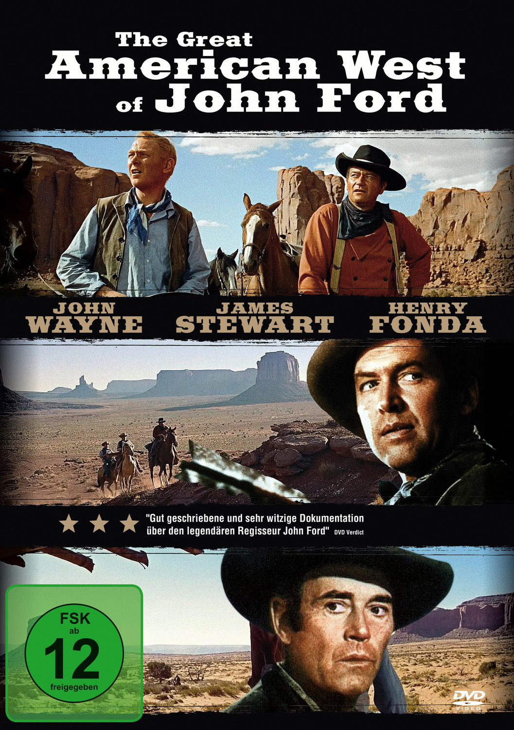 The Great American West of John Ford
