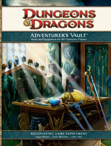 Adventurer´s Vault: A 4th Edition D&D Supplemen...